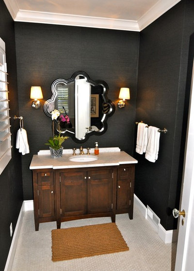 Contemporary Bathroom by Kerrie Kelly Design Lab