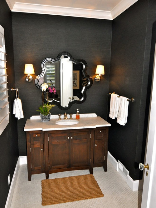Black And Tan Bathroom Home Design Ideas Pictures