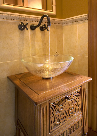 Traditional Bathroom by Interiology Design Co.