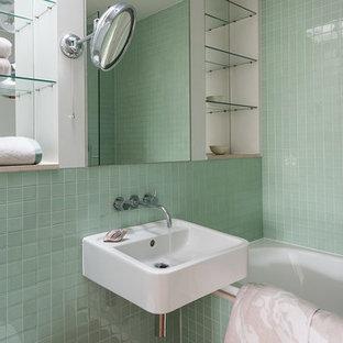 Свежая идея для дизайна: ванная комната в стиле шебби-шик - отличное фото интерьера
