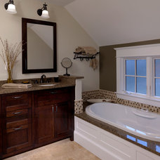 Traditional Bathroom by Moore Architects, PC