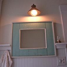 Farmhouse Bathroom Virginia Countryside Cottage