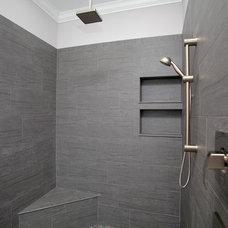 Craftsman Bathroom by Devonshire Custom Homes