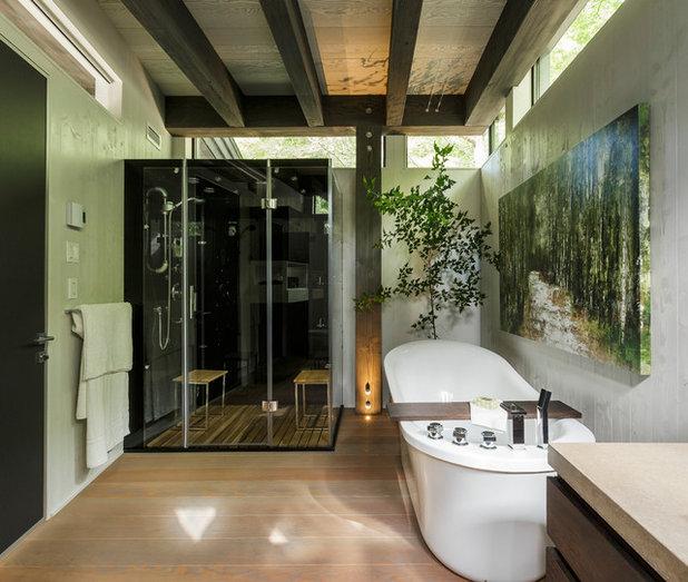 コンテンポラリー 浴室 VIRIDI