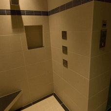 Contemporary Bathroom by dC Fine Homes & Interiors