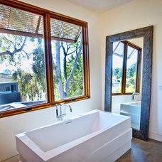 Contemporary Bathroom by Jill Wolff Interior Design