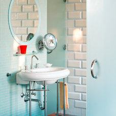 Contemporary Bathroom Visit a House That's a Personal Architecture Gallery