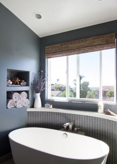 Contemporary Bathroom by Grace Blu Interior Design