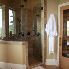 Mediterranean Bathroom by Infinity Design, Inc.