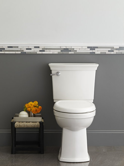 Tile Chair Rail Ideas Pictures Remodel And Decor