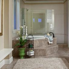Mediterranean Bathroom by Lakeville Homes