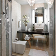 Contemporary Bathroom by L.Pumpa Designs