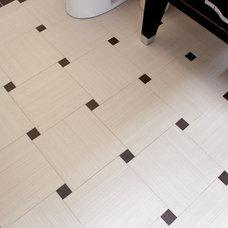 Modern Bathroom by K.C. Customs & Remodeling, Inc.