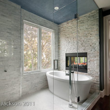 Modern Bathroom by Hall Developments