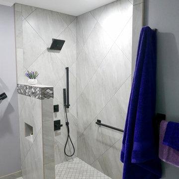 W. White Master Bathroom