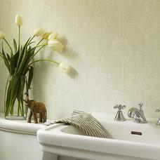 Eclectic Bathroom by Hudson Interior Design