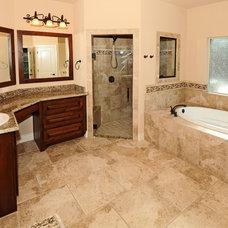 Traditional Bathroom by Nalle Custom Homes