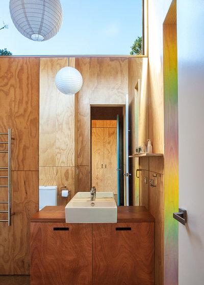 コンテンポラリー 浴室 by Box™ Design & Build