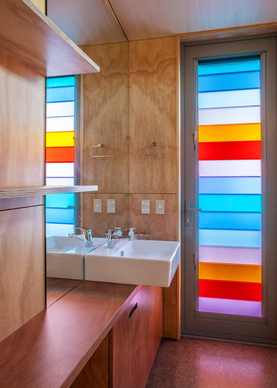 Contemporain Salle de Bain by Box™ Design & Build