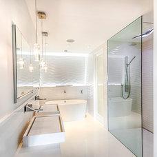 Contemporary Bathroom by Marshall Design Studio, LLC