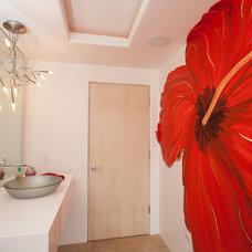 Contemporary Bathroom by Connie Anderson Photography