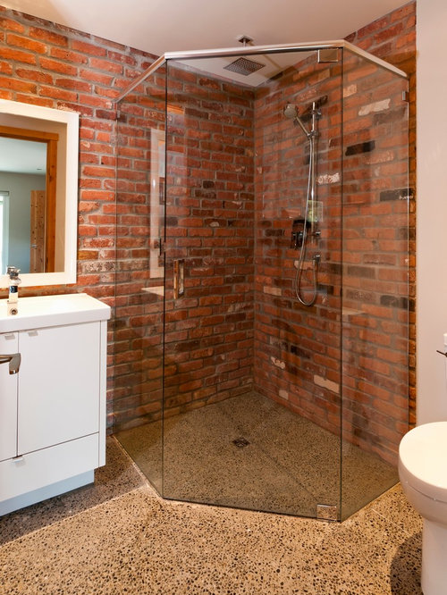 Brick Shower Houzz
