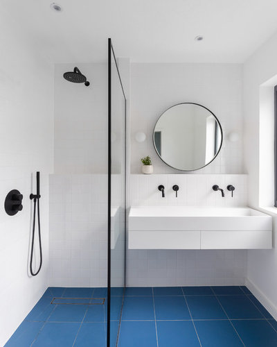 Contemporary Bathroom by neighbourhood studio