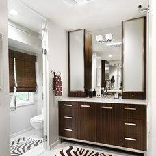 Contemporary Bathroom by AMW Design Studio