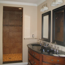 Traditional Bathroom by Taylor Made Custom Contracting Inc.