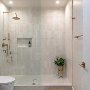 Inspiration för ett 50 tals badrum