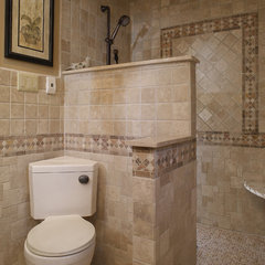 mediterranean bathroom by Gavin Design-Build Inc.