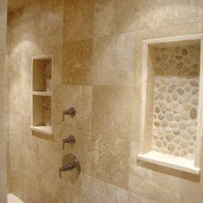 Traditional Bathroom by Lauren Milligan Design
