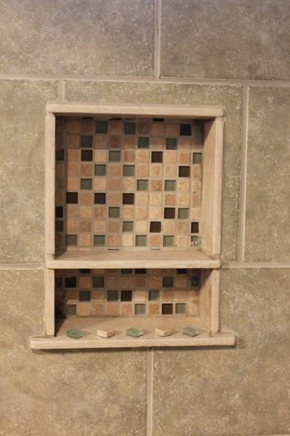 Modern Bathroom by marten g remodels