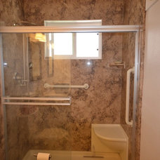 Traditional Bathroom by NEW LIFE BATH AND KITCHEN