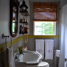 Eclectic Bathroom by Sara Walker Inc.