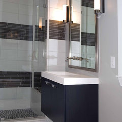 contemporary bathroom by Tongue & Groove