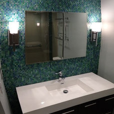 Transitional Bathroom by BY DESIGN Builders