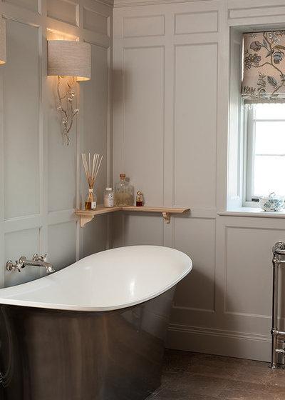 Traditional Bathroom by Trefurn
