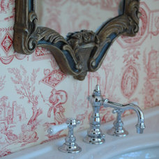 Traditional Bathroom by Trish Namm, Allied ASID - Kent Kitchen Works