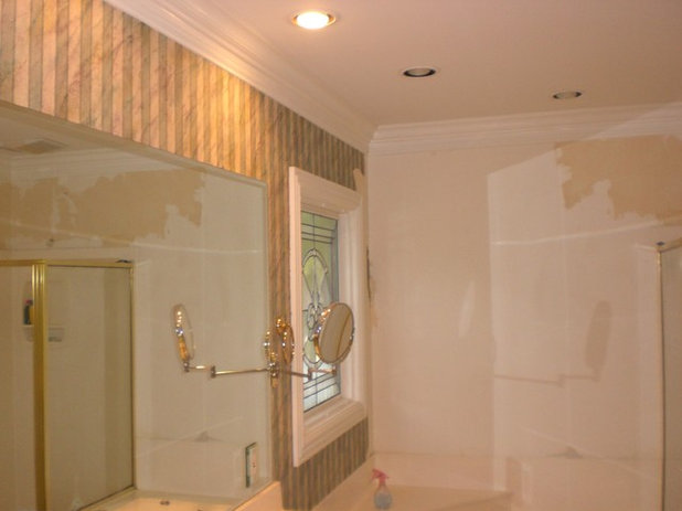 Traditional Bathroom by L. A. Painting Services. LLC