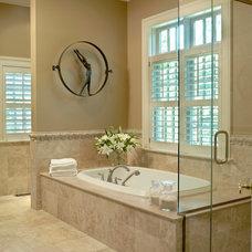 Traditional Bathroom by Glen Alspaugh Kitchens and Baths