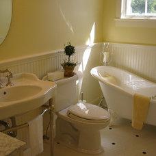Traditional Bathroom by Gregory Dedona Architect