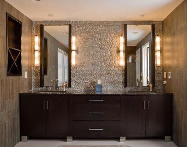 Modern Bathroom by Scandia Kitchens Inc.
