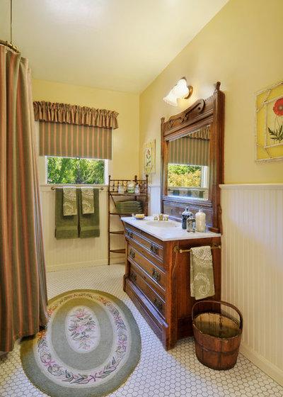 Victorian Bathroom by Adeeni Design Group