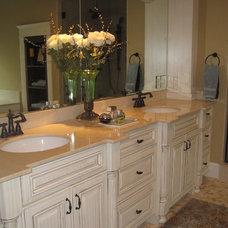 Traditional Bathroom by Brickstone Development