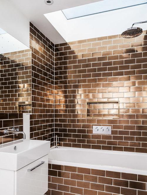 Bathroom Design Ideas Renovations Amp Photos With Brown