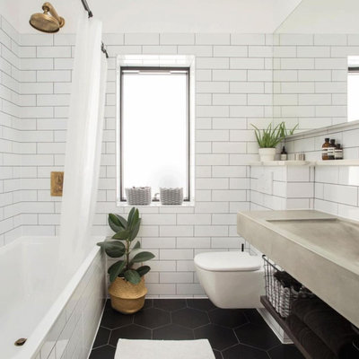 Contemporary Bathroom by PLANSTUDIO