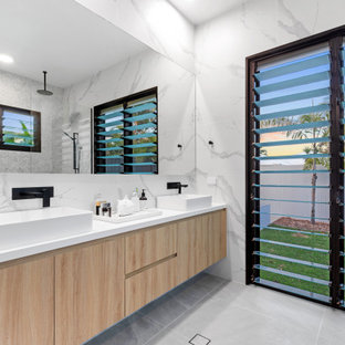 This is an example of a beach style bathroom in Sunshine Coast.