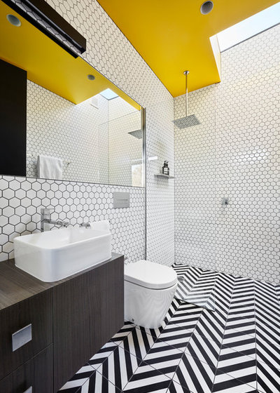 Contemporary Bathroom by Rhiannon Slatter Photographer