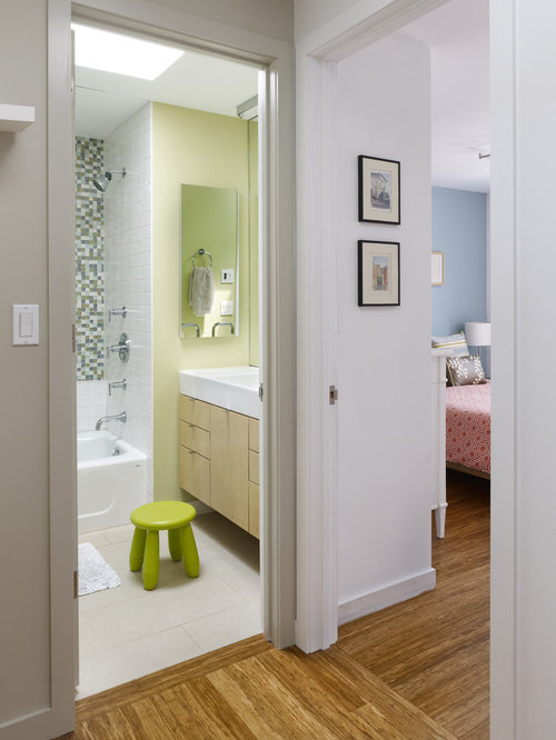 Seafoam Green Bathroom Houzz